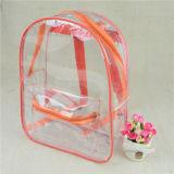 Цветастый мешок школы PVC прозрачный водоустойчивый, мешок Backpack малышей для детей
