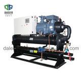 Refrigerador industrial do parafuso Water-Cooled