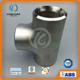 Codos y accesorios de acero inoxidable T extremos iguales con TUV (KT0328)