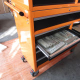 42 в 11drawer Orange Steel Roller Cabinet Tool Chest
