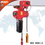 1.5T Ascensor cadena eléctrico con gancho