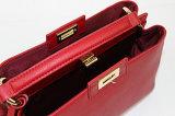 De recentste Handtassen van het Leer van Ontwerpen Mini Rode Echte voor de Inzamelingen van Vrouwen
