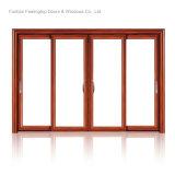 Алюминиевая дверь патио сползая стекла для селитебной комнаты (FT-D190)