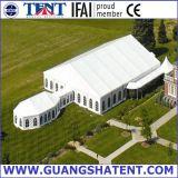 Большой белый шатер для доставки с обслуживанием, партии, выставки, автоматической выставки