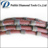 Granite Marble Concrete Cutting Saw Perles frittés diamant Fil
