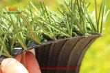 La venta caliente el monofilamento de 50mm de plástico césped de hierba artificial para el césped del campo de fútbol