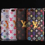 Brand grande Luxury Fashion Leather Cover para iPhone6