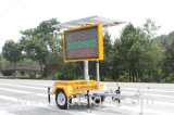 Solar Powered LED Light Road Safety Traffic Sign Vms