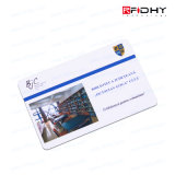 IDENTIFICATION RF en plastique compatible Smart Card avec de diverses puces sans contact
