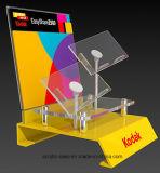 Étalage Point of Sale en verre acryliques de modèle et de fabrication