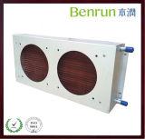 공기에 의하여 냉각되는 구리 또는 Aluminun 탄미익 콘덴서 또는 증발기