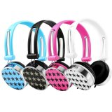 Los mejores accesorios móviles sobre los auriculares estéreos atados con alambre oído del jugador MP3 del receptor de cabeza al por mayor