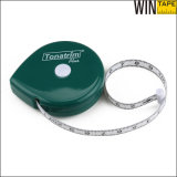 1.5 mètres Green Custom Logo Mini Body BMI Measuring Tape