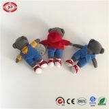 Três camaradas minúsculos pouco brinquedo agradável de Hotsale do urso da peluche de Workship