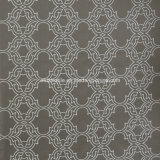 Fashionable moderno Curtain Pattern in Jacquard Window Curtain