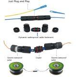 Câbles fibre optiques de faisceau du mode unitaire 2 avec le pouvoir Conbination