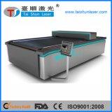 Máquina de estaca larga do laser de matéria têxtil do sistema do rebobinamento do formato