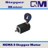 Motor de pasos NEMA8/motor de escalonamiento L=37.7mm
