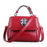 Frauen-Blume gedruckte Entwerfer-Form-Handtaschen-Schulter-Leder-Dame Bag