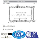 Auto radiador da venda Hy-026-1 para Hyundai Trajet'99 at/PA26 25310-3A200