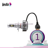 Farol do diodo emissor de luz H4 Hi/Lo do carro do CREE Xhp50 auto