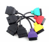 Adaptadores para FIAT ECU Scan Diagnostic Cable Four Colors