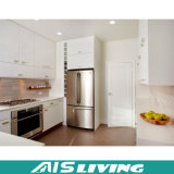 Mobília elevada Prefab do gabinete de cozinha das portas da laca do lustro (AIS-K071)