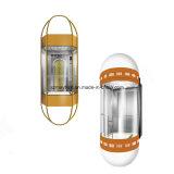 Bequemes panoramisches Glashöhenruder mit Maschinen-Raum