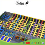 Grande multi Trampoline comercial funcional interno de Slamball para o adulto