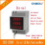 D52-2048 디지털 지적인 전류계 전압계에 의하여 결합되는 미터