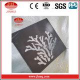 Painel composto de alumínio perfurado cinzelado para a decoração (JH196)