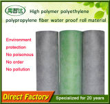 Membrana de impermeabilización del polietileno del alto polímero del contador del peso 300-500g/Sqaure