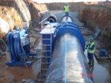 HDPEは機械を接合する機械かバット溶接Machine/HDPEの管を接合する溶接機または管の融合の機械か管を配管する
