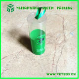 Pet di plastica Clear Rolled Packaging Tube per Gift