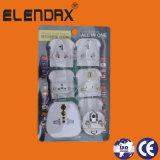 Elektrische Stop 3 Contactdoos van de Stop van de Speld de Vlakke Plastic (P7037)