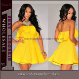 Способа вязания крючком платье лета назад шифоновое макси (TKYA737)