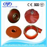 Pompe de carter de vidange verticale résistante abrasive de haut chrome