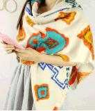 جديد نمو هندسة شال جميل طباعة دقة وشاح