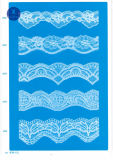 Het Kant van het tricot voor Kleding/Kledingstuk/Schoenen/Zak/Geval 3199 (Breedte: 7cm)