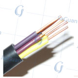 Câble chaud de câblage cuivre d'isolation de PVC de vente