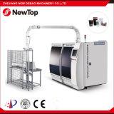 Probando la taza de papel que hace la máquina (DB-600s)