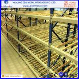 De alta tecnologia com racking de aço laminado/cremalheiras do fluxo da caixa Q235