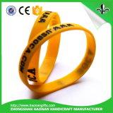 Bracelet chaud en caoutchouc de silicones de largeur du produit 12mm de vente (HN-SB-006)