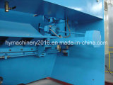 Máquina que pela de la guillotina hidráulica QC11y-12X3200, cortadora de la placa de acero