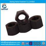 표준 탄소 강철 HDG 얇은 hex Nuts/Blue 백색 아연에 의하여 도금되는 hex Nuts/Black 육 견과