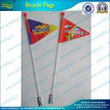 Fahrrad-100d gesponnene Polyester-Fahrrad-Sicherheits-Markierungsfahne (J-NF15P07005)