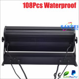 IP65 esterno Light 108*3W RGBW Brightness LED Wall Washer