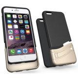 Lujo PU billetera de cuero del tirón S-View para el iPhone 5