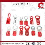 Hasp de aço de alumínio do punho Zc-K11 de nylon