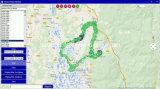 Gps-Server GPS, der Software-Plattform Tl2000p aufspürt
